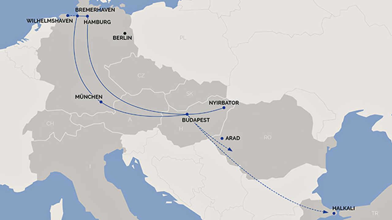 Egim Startet Blockzüge Zwischen München Und Budapest Dvz