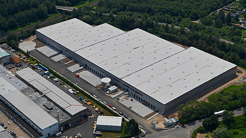 Logistikzentrum Frankfurt