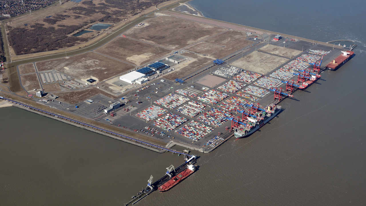 Vw Beauftragt Imperial Im Jade Weser Port Dvz
