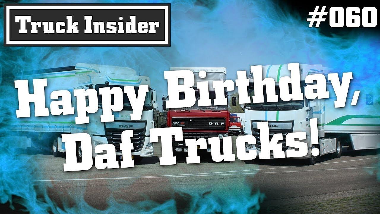 Happy Birthday Daf Trucks