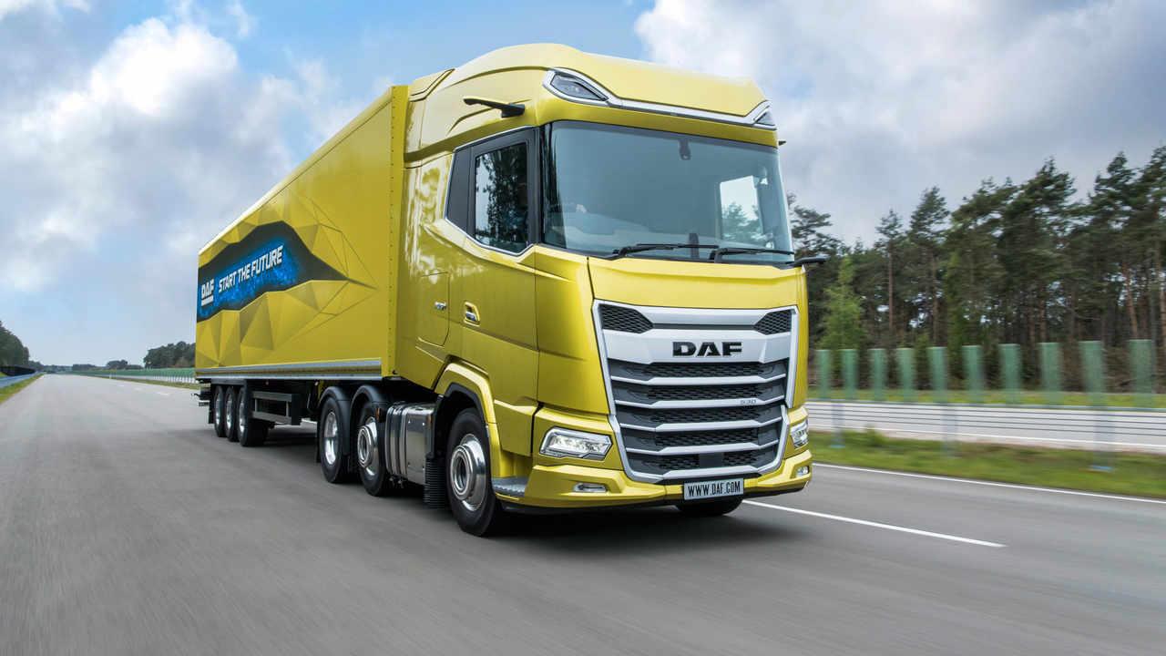 Daf definiert die Fernverkehrs Lkw neu   DVZ